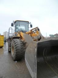 loading shovel